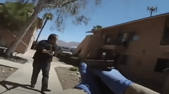 Las Vegas Man Threatens To Kill Officers With Sword Before Deadly Shooting