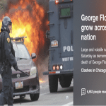 George Floyd protests continue nationwide as hundreds are arrested, cities issue curfews
